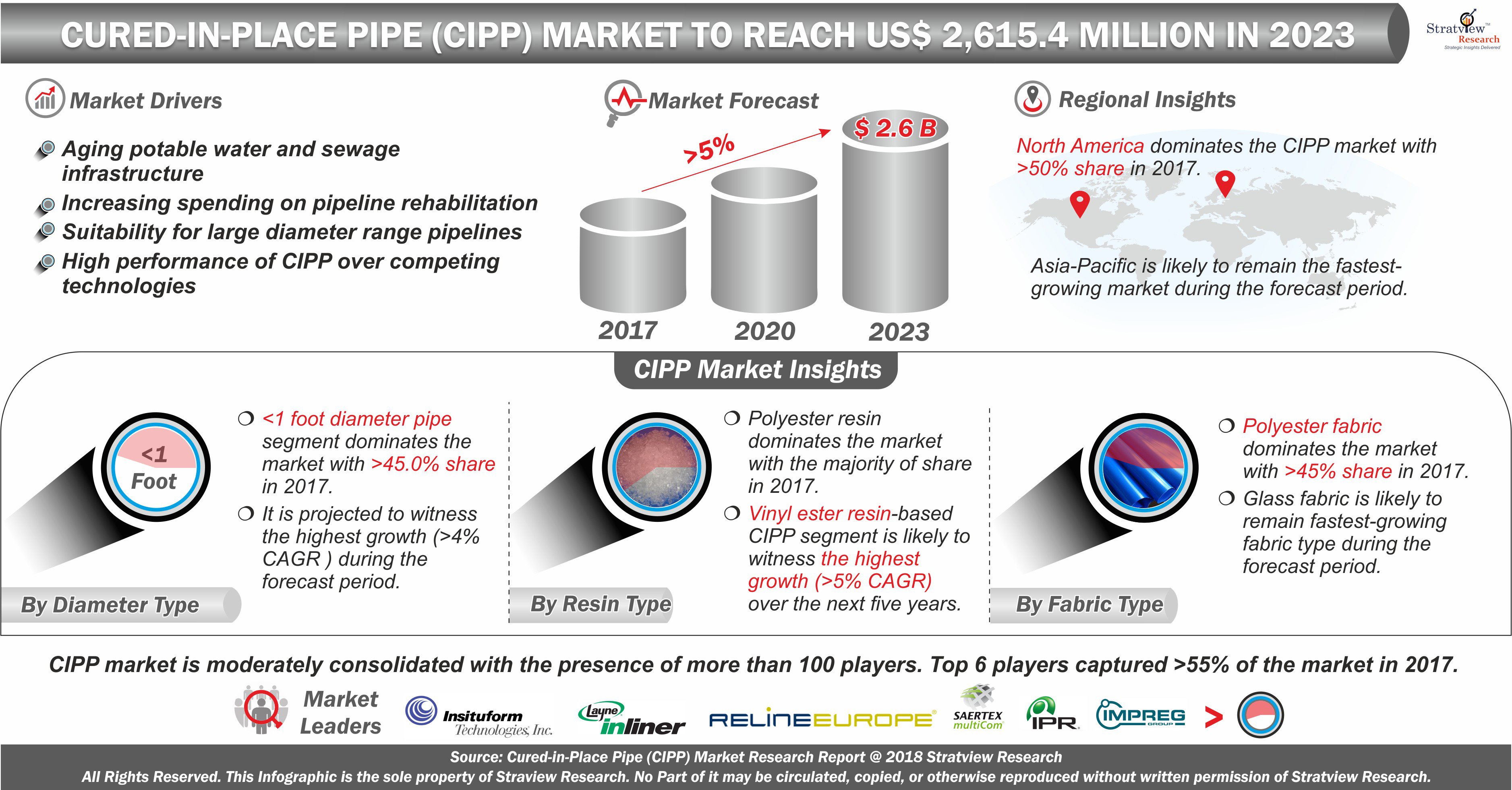 Cured-in-Place Pipe Market (CIPP)