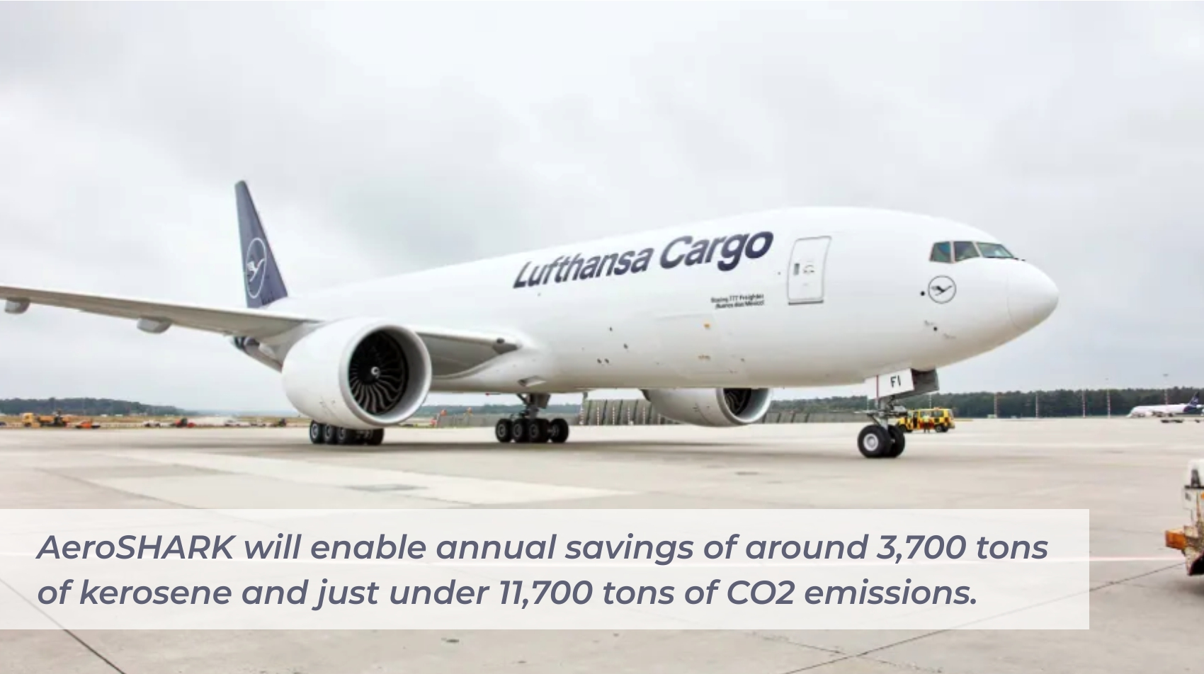 Lufthansa Group and BASF Roll Out AeroShark  A Surface Film that Improves Fuel Efficiency
