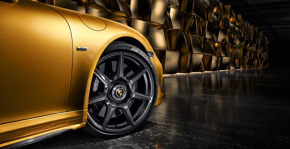Porsche The Worlds First to Offer Braided Carbon Wheel