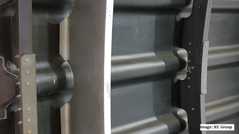 Spirit Develops New Carbon Fiber Fuselage Panel