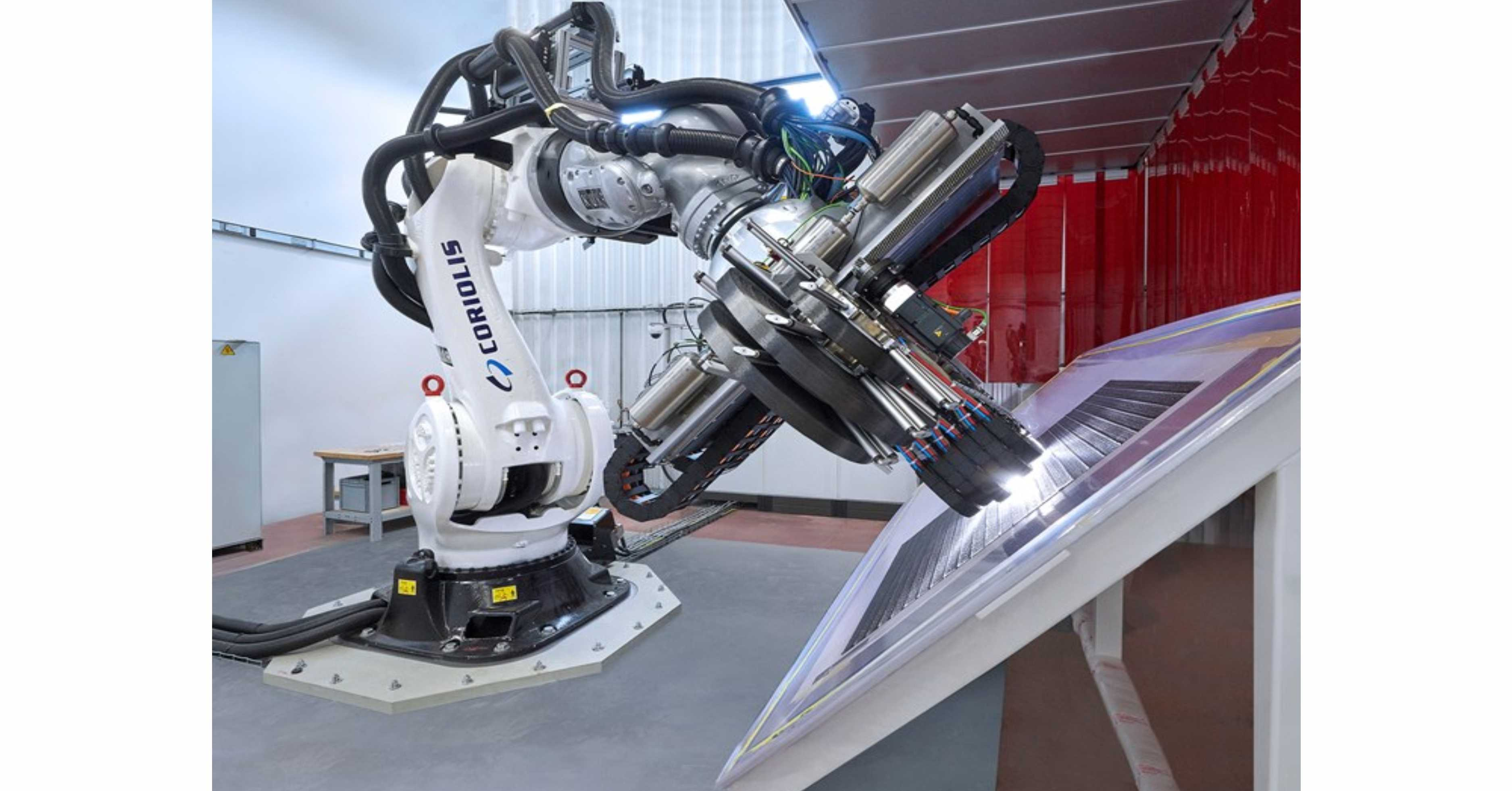National Composites Centre purchases Coriolis C5 robotic gantry AFP
