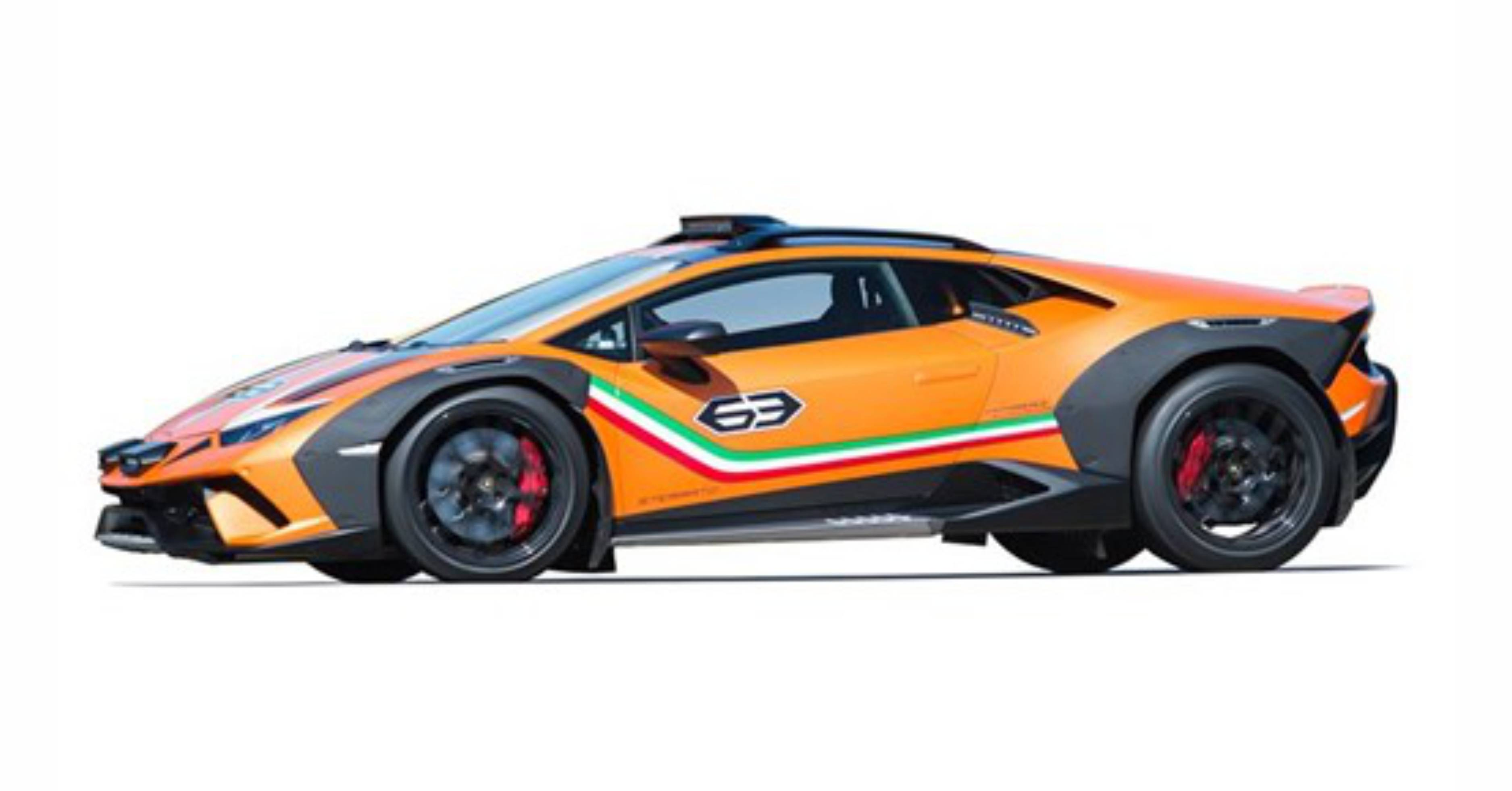 Lamborghini Getting Ready to Introduce Huracán Sterrato