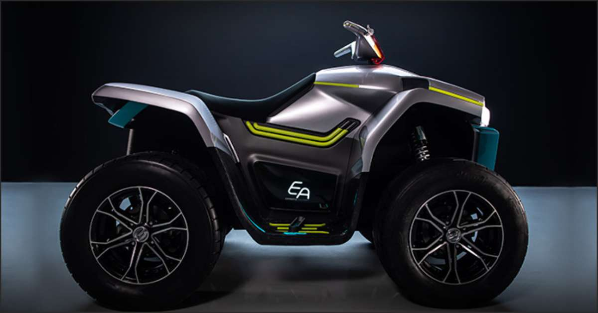 CFMOTO has Introduced All Electric ATV at EICMA