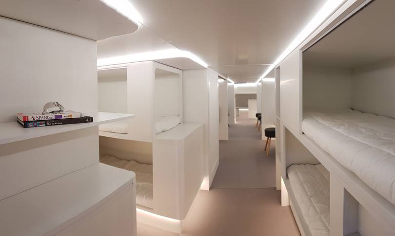 Airbus and Zodiac Aerospace enter into a partnership for new lower-deck sleeping facilities
