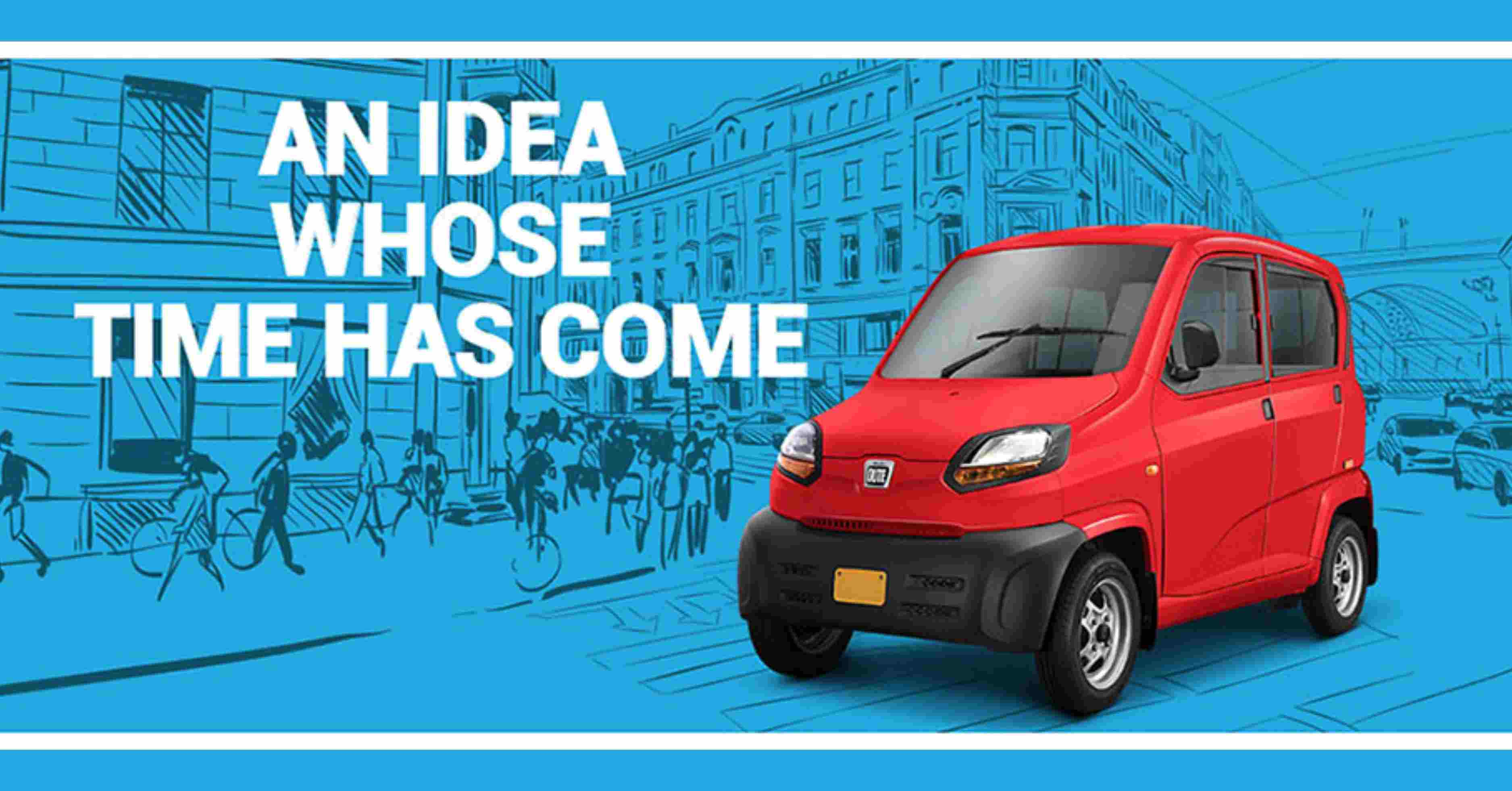 Bajaj's 'Qute' Ready to Disrupt the Indian Car Market