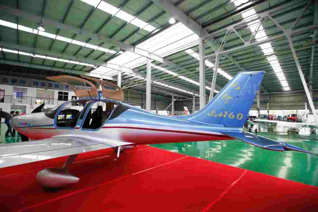 China's First All-Composite Aircraft, the Sunward SA160L Completes First Flight