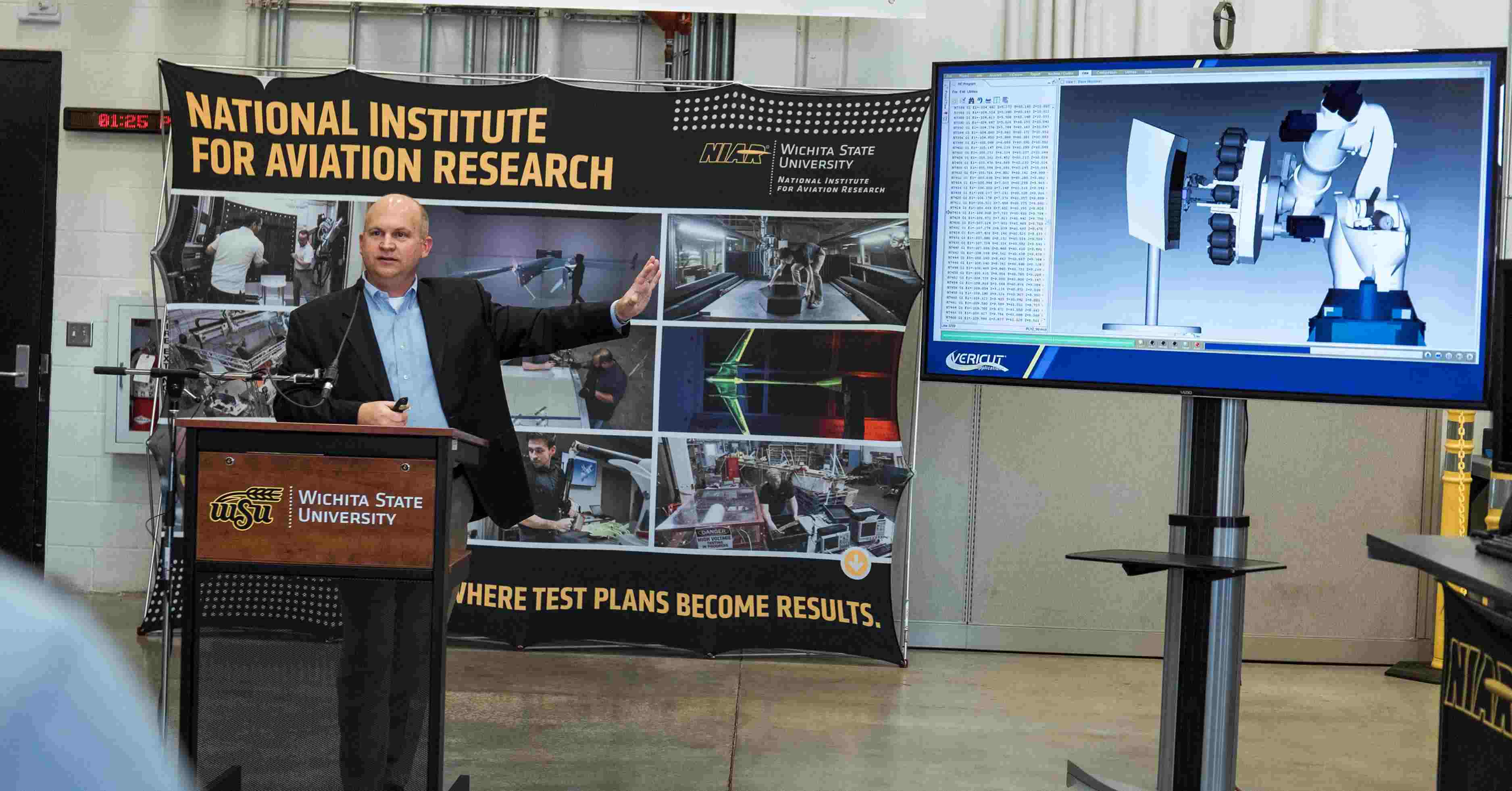 2 Million Grant Awarded to WSU for Advanced Composites Manufacturing Technology