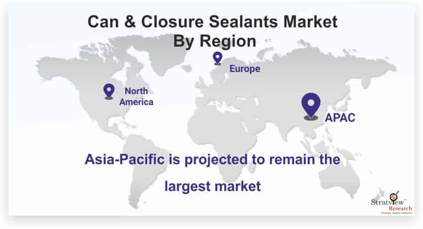 Can-&-Closure-Sealants-Market-By-Region