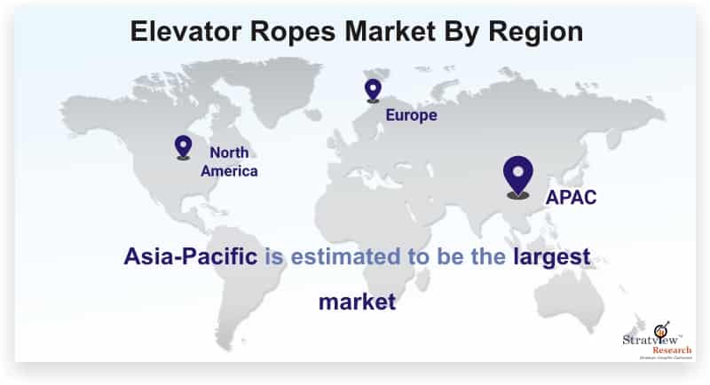 Elevator-Ropes-Market-By-Region