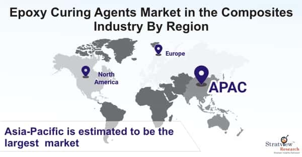 Epoxy Curing Agents Market in the Composites Industry By Region