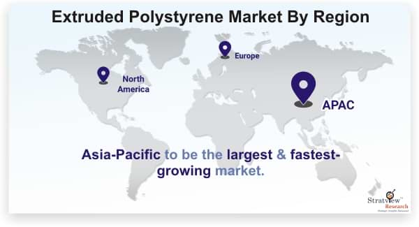 Extruded Polystyrene Market By Region
