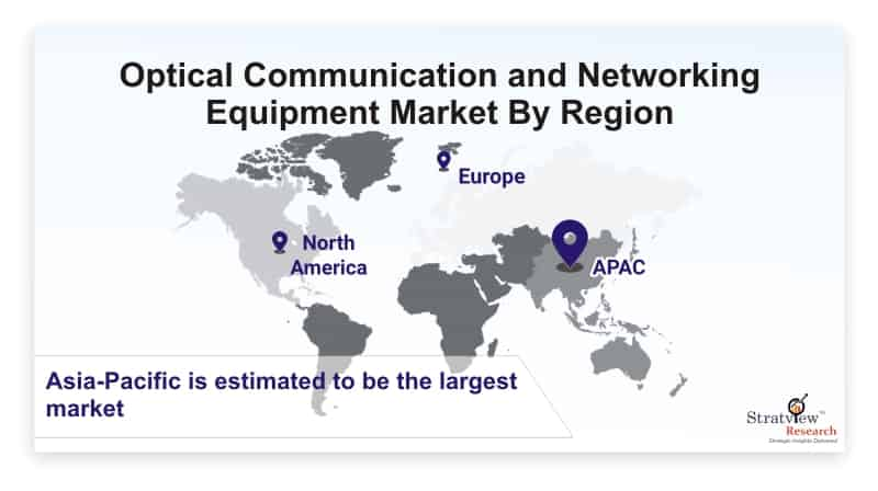 Optical-Communication-and-Networking-Equipment-Market-By-Region