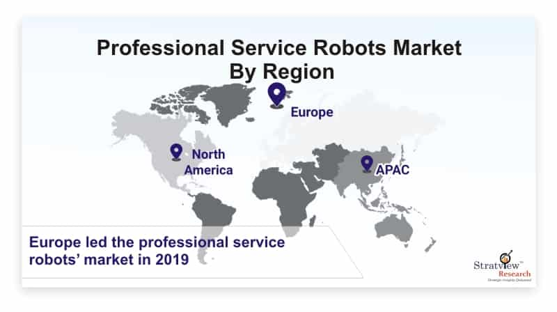 Professional-Service-Robots-Market-By-Region