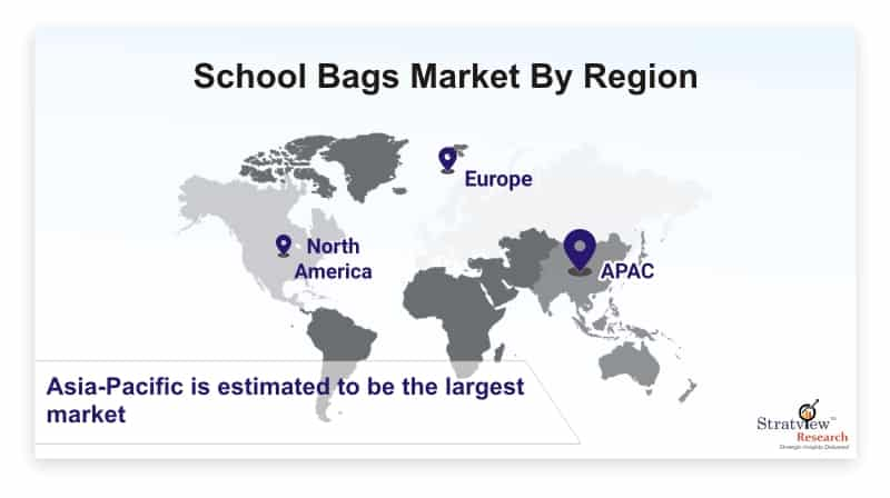 School-Bags-Market-By-Region