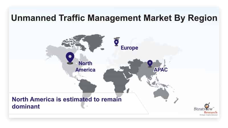 Unmanned-Traffic-Management-Market-By-Region